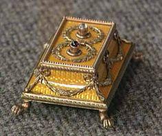 Fabergé bell push
