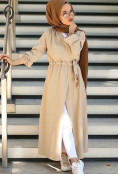 casual summer dress – casual hijab summer look – Just Trendy Girls - Outfit Center Modern Hijab Fashion, Street Hijab Fashion, Muslim Women Fashion, Islamic Fashion, Abaya Fashion, Fashion Moda, Fashion Outfits, Hijab Outfit, Hijab A Enfiler