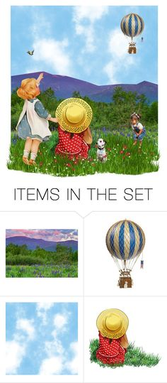 """""""Up, Up & Away!"""" by kbarkstyle ❤ liked on Polyvore featuring art"""