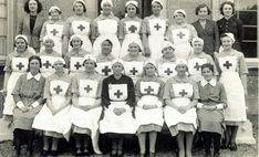 nurses | Nurses in WWII uniform. Every person has a story to tell.
