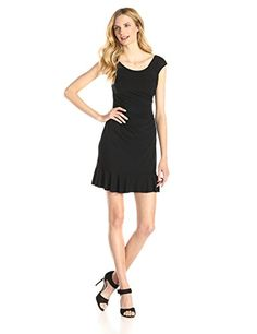 Betsey Johnson Women's Side-Ruched Dr…