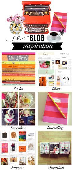 Blog Inspiration Board