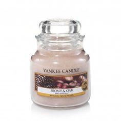 Yankee Candle Small Jar - Ebony and Oak