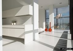 White Penthouse in Moscow // APK-Studio