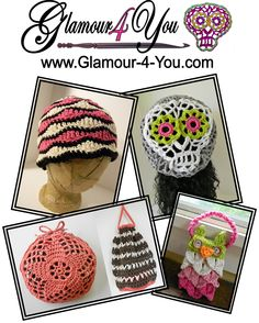 Glamour4You URL:Website: Glamour-4-You.com Facebook: http://www.facebook.com/Glamour4You.ByAnn PRIZE: 1 Winner will receive Any 3 Single Patterns of Choice (Patterns listed on website) sent via email.
