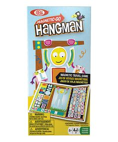 This Magnetic Hangman Game by Ideal is perfect! #zulilyfinds