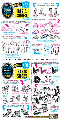 How to draw FEET, SHOES and BOOTS tutorial by STUDIOBLINKTWICE on DeviantArt