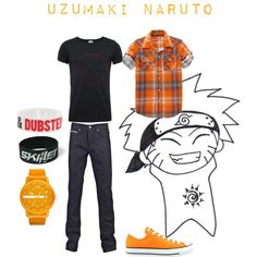 """Uzumaki Naruto"" by beastwithin on Polyvore"