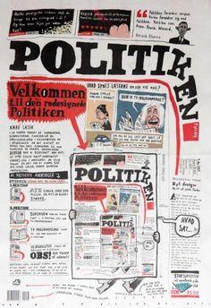 Primera página del diario danés Politiken, el día que introdujo un nuevo diseño.