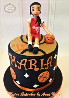 Basketball Girl Cake