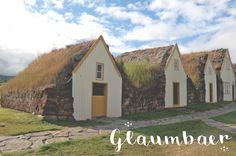 Glaumbaer, Iceland. Old traditional huts.  #iceland #glaumbaer #hutswithgrass