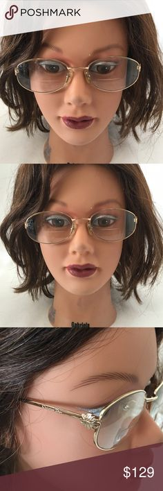 Christian Dior eyeglass This is a great quality frame,you can use it for your prescription ,the current lens is bifocal and I don't know the grade. Christian dior Accessories Glasses
