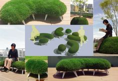 """The Grass is Always Greener with Mindscape's """"Peddy"""" Furniture : TreeHugger"""