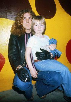 Robert Plant with Jason Bonham (John Bonham's son)