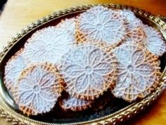 Vegan Pizzelle - Double the anise add a little more plant-based milk to the batter to make lighter cookies.  It's a delicate balance, so testing is required to find the the dough's sweet spot.  These pizzelle are more dense than the traditional cookie.