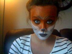 15 Halloween Ideas Kids Costumes Halloween Fox Face Paint