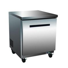 Maxx Cold X-Series 7.0 cu. ft. Single Door Undercounter Commercial Refrigerator in Stainless Steel