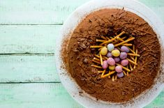 Chocolate Easter Egg Nest Cake Stock Photo - Image of candy, dessert: 87870916 Easter Cake Images, Cake Recipes To Impress, Perfect Cake Recipe, Dog Food Recipes, Dessert Recipes, Chocolate Fudge Frosting, Cake Stock, Lemon Bundt Cake, Cooking Chocolate