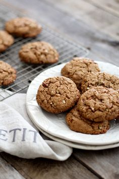 Make with a flax egg for vegan. Almond Butter, Turmeric and Ginger Cookies
