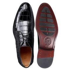 Business Alligator Leather Shoes for Men