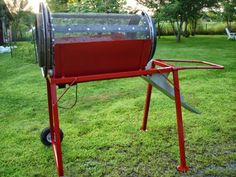 Ed's Metal Creations: Homemade Compost Trommel