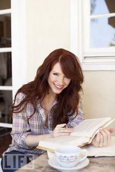 I sometimes wish I were a redhead... gorgeous bryce dallas howard