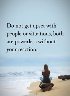 Exactly what we say. No point in getting upset with someone, especially a miserable someone. Too blessed to be stressed!
