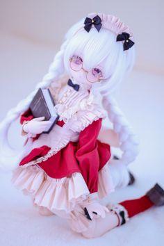 Kawaii Doll, Kawaii Anime Girl, Pretty Dolls, Beautiful Dolls, Anime Figurines, Smart Doll, Anime Dolls, Doll Repaint, Lol Dolls