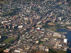 Lynn, Lynn, city of sin! Lynn, Massachusetts from the air.