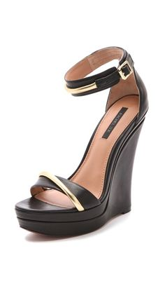 Rachel Zoe Katlyn Wedge Sandals,,think i own half of Rachels shoe dazzle collection! Pretty Shoes, Cute Shoes, Me Too Shoes, Beautiful Shoes, Rachel Zoe, Wedge Sandals, Wedge Shoes, Ankle Strap Shoes, Crazy Shoes