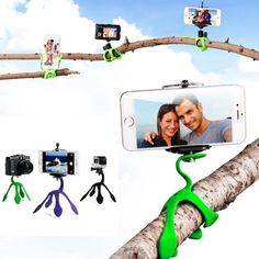 Portable Mini Tripod for Every Phone, GoPro & Cameras                      – Freak4Gadgets