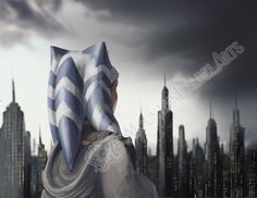 Ahsoka  Oncoming Storm  Star Wars Clone Wars Fan by mtnlaurelarts