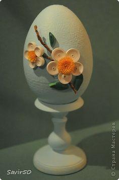 Декор предметов Пасха Квиллинг Яйцо  Бумага фото 2