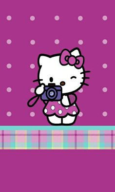 Wallpaper Sanrio Hello Kitty, Hello Kitty Pictures, Iphone 6 Wallpaper, Cellphone Wallpaper, Hello Kitty Accessories, Hello Kitty Wallpaper, Sanrio Characters, Little Twin Stars, Stickers