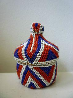 Tutsi Rwanda Beaded Woven Fiber Basket Pot and Cover 20th Century 4in | eBay