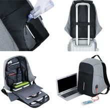 Features: -Anti-Theft -Waterproof -USB Charging Port -Multi-function -Laptop carrier -Multi Compartments -LED stripes for night reflection -Secret compartments Waterproof Laptop Backpack, Laptop Rucksack, Men's Backpack, School Bag Price, School Bags, Usb, Aluminum Wallet, Anti Theft Backpack, Bag Sale