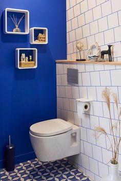 Une peinture pimpante pour les WC