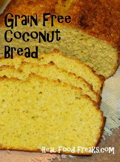 Simple Grain Free Coconut Bread