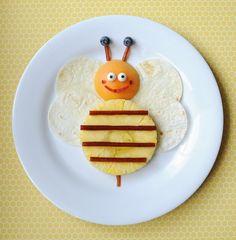 One Sweet Bee #snack idea || #LittlePassports #Cute #food for #kids
