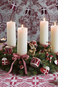 Adventskranse - Den klassiske adventskrans