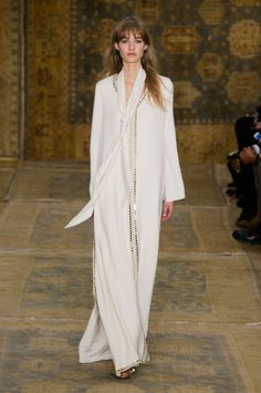 A look from Tory Burch's fall 2015 collection. Photo: Imaxtree