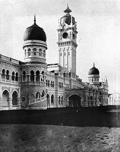 Sultan Abdul Samad Building.
