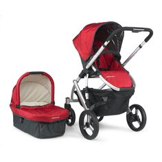 UPPAbaby Vista (~$819): The Vista is the best luxury stroller on the market. It is NOT lightweight or small, but makes up for it with amazing features. Click photo for more details.