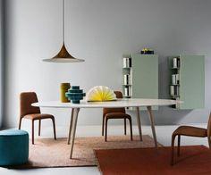 Novamobili Tisch Argos oval oder rund in 20 Farben
