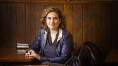 """Ada Colau, vocera de los desahuciados:"""" Hay que refundar la democracia"""""""