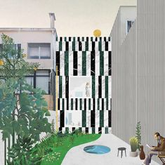 From Digital to Reality: A Comparison of FALA Atelier's Collages to the Actual Buildings