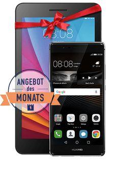 O2 Aktion: Huawei P9 für 1 Euro mit gratis Tablet und 2 GB All-In Flat ab 2999 Euro   Ab sofort gibt es beim Mobilfunkanbieter O2 das neue Top-Smartphone von Huawei mit dem Huawei P9 für nur 1 Euro mit einem gratis Tablet PC im Wert von 121 Euro. Immerhin hat das neue Top-Smartphone Huawei P9 auch einen Gegenwert von rund 480 Euro. Ferner gibt es den O2 Blue All-In M Tarif ermässigt für nur 2999 Euro im Monat. Bei der neuen O2 Tarifaktion sparen unsere Leser rund 420 Euro an Grundgebühren…