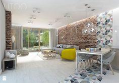 NOWOCZESNY VINTAGE - Salon, styl vintage - zdjęcie od UTOO- pracownia architektury wnętrz i krajobrazu