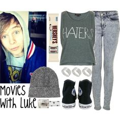 Movies With Luke, created by albamonkey on Polyvore