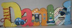 MEDIDA+ESPECIAL+PARA+PRATELEIRA+-+15mm++Nome+decorado+em+MDF+e+Scrap+personalizado+para+decoração+de+quarto,+porta+maternidade,+festas...+Tema+e+cores+a+sua+escolha R$ 108,68